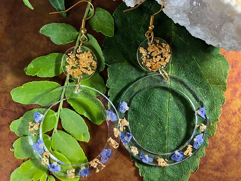 By the Seaside Hoop Earrings