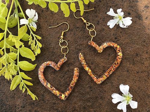 All Love Heart Hoops