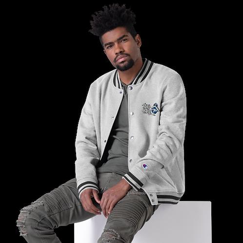 Tru Skool® Embroidered Champion Bomber Jacket