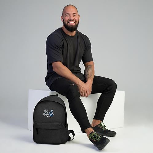 Tru Skool® Embroidered Backpack