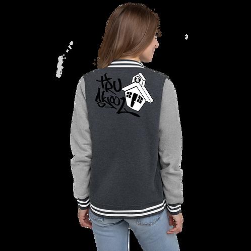 Tru Skool® Women's Letterman Jacket
