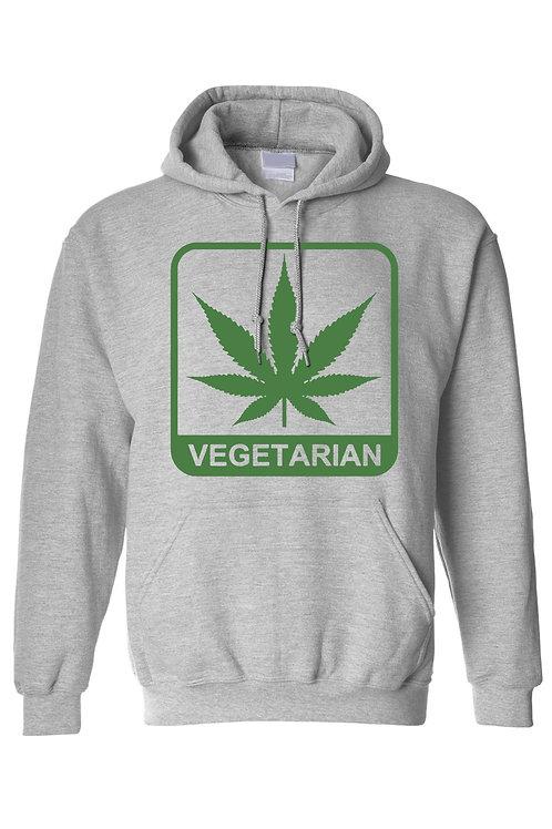 """Men's/Unisex Funny """"Vegetarian"""" Long Sleeve T-Shirt"""