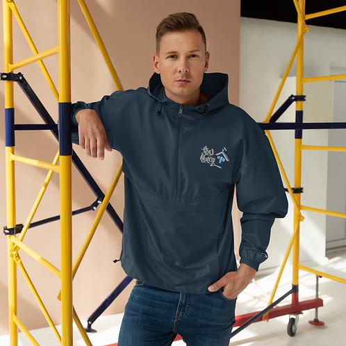 Tru Skool® Embroidered Champion Packable Jacket