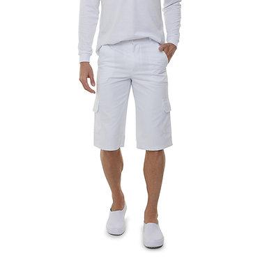 Bermuda Cargo Masculina Branca
