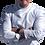 Thumbnail: Dólmã Masculina de Piquet Botão Pressão