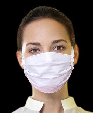 Máscara Unissex de tecido de amarrar - 20 (vinte) Unidades