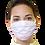 Thumbnail: Máscara Unissex de tecido de amarrar - 5 (dez) Unidades
