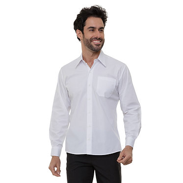 Camisa Social Masculina Manga Longa