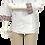 Thumbnail: Dólmã Feminina Branca com Detalhes Gola e Punho