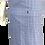 Thumbnail: Avental de Cintura Estampado Azul