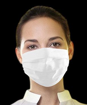 Máscara Unissex de tecido - 5 (cinco) Unidades
