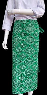 Avental de Estampado Verde