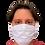 Thumbnail: Máscara Unissex de tecido de amarrar - 20 (vinte) Unidades