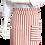 Thumbnail: Avental de Cintura Listrado Vermelho