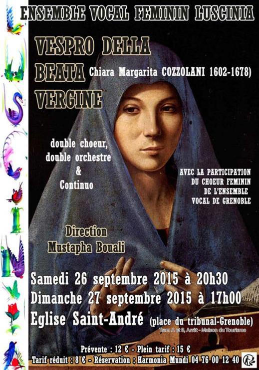 concert Luscinia Cozzolani septembre 201