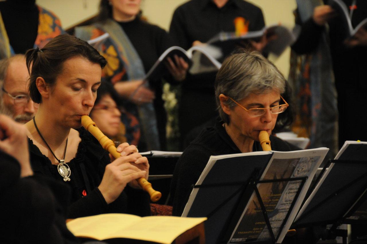 Flutes - Ensemble vocal de Grenoble