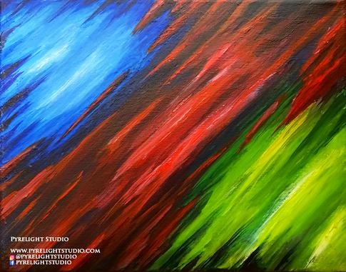 Tri-Color Shards