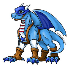 Star-Spangled Dragon