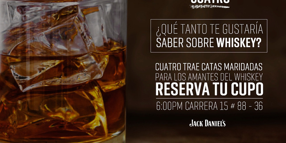 Cata Maridada Whiskey Jack Daniel's