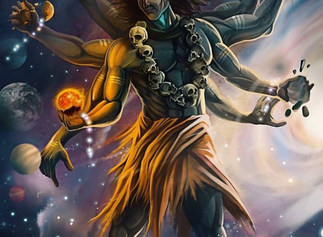 Kala Bhairava - Shiva in his most fearful form
