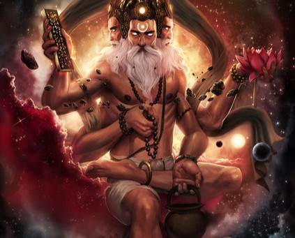 Lord Brahma - God of Creation and Vedas