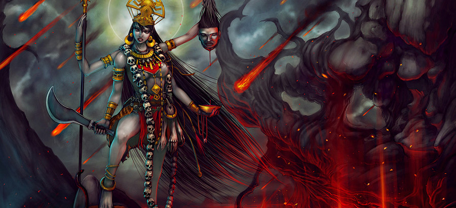 Goddess Kaali – Goddess of Destruction