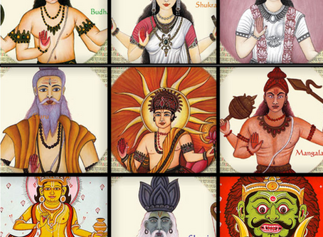 Navagraha - Nine Celestial bodies of the Universe