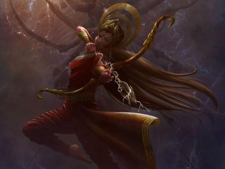 Navadurga - The nine different forms of the Divine Feminine