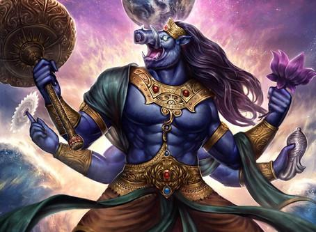 Lord Varaha - 3rd Vishnu Avatar