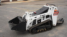 Electric Bobcat tractor