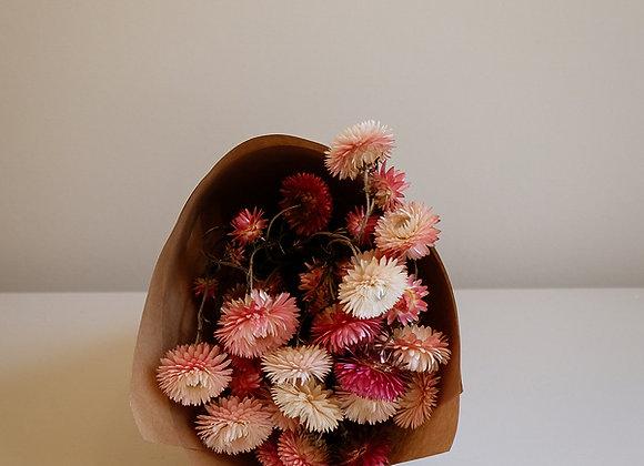 Botte de fleurs séchées