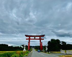 出羽三山神社第一鳥居