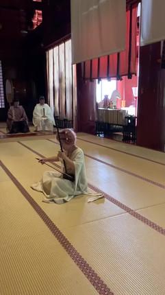 羽黒山合祭殿奉納演奏