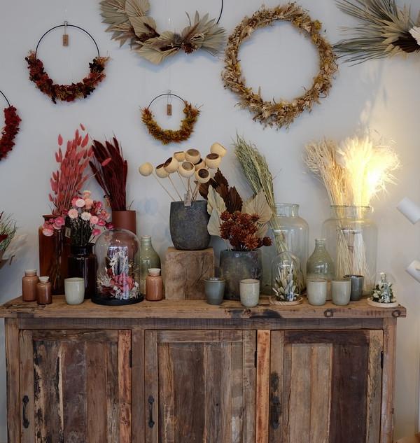 Fleurs-séchées-fleuriste-gisors-atelier-