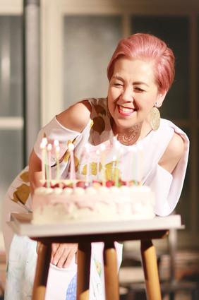 20周年とbirthdayを祝っていただきました