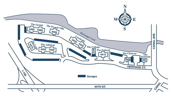 Heritage Apartments Address-Site Map_No