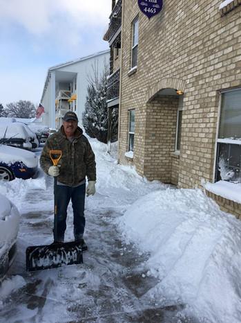 Heritage Apartmens Super Bill shoveling