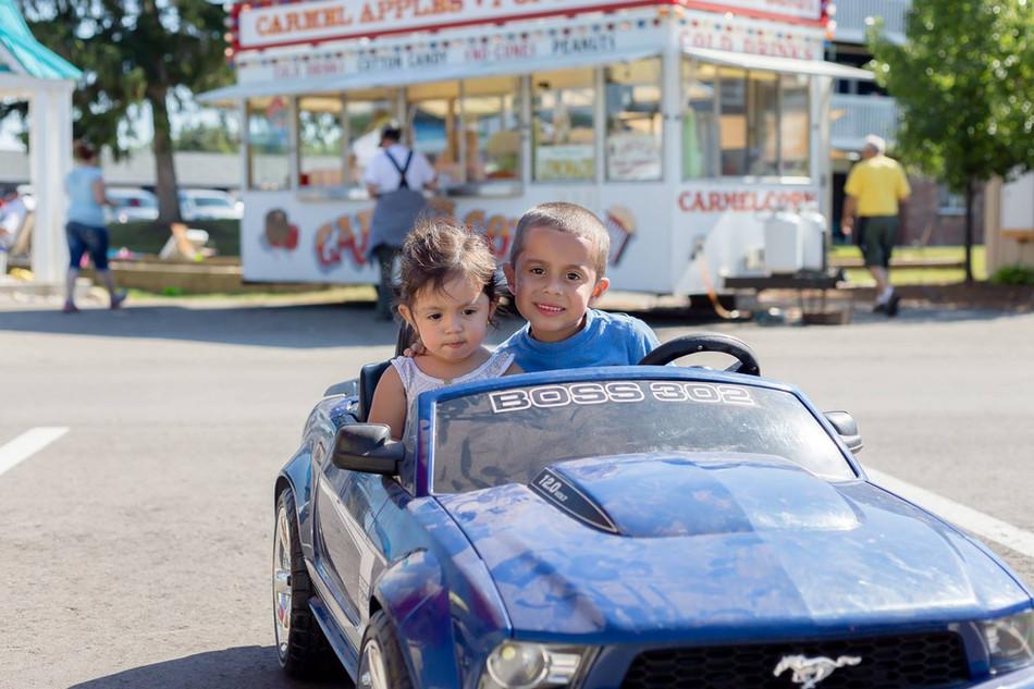 Heritage Apartments cute car kids