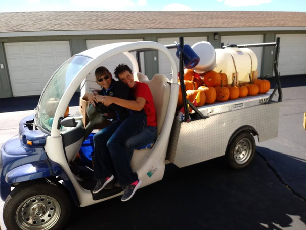 Heritage Apartments pumpkin runners