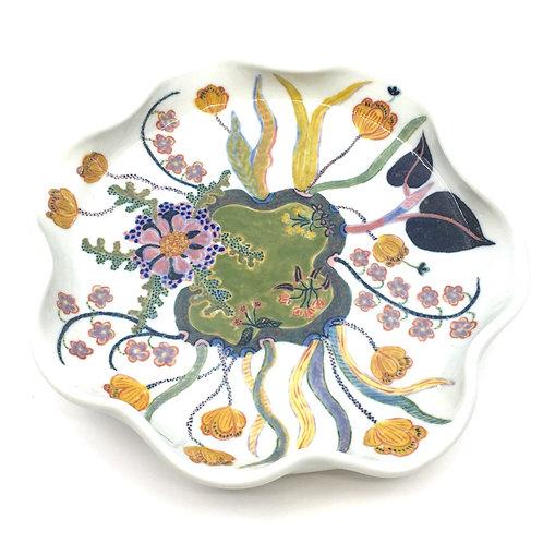 One-Of-A-Kind Porcelain Serving Bowl