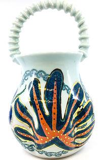 S. Rosenstein-- Vine Handled Flower Basket, view ##.jpg