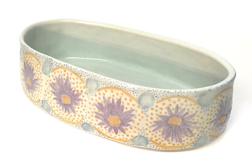 Handcrafted Oval Porcelain Baking Dish
