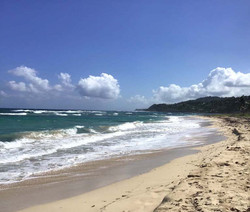 Sun Bathed Beach