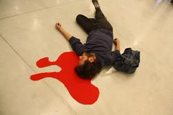 הפגנת האמנים מוזיאון תל אביב