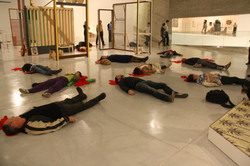 מחאת האמנים מוזיאון תל אביב
