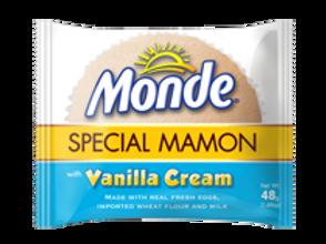 MONDE SPECIAL MAMON VANILLA CREAM (4PCS.)