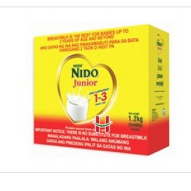Nido Advanced Junior 1-3y.o Powdered Milk 1.2kg