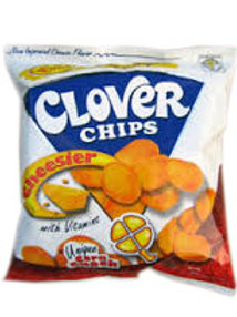 CLOVER CHIPS CHEESE 27G