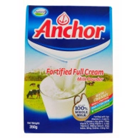Anchor Full Cream Milk Powder 350g