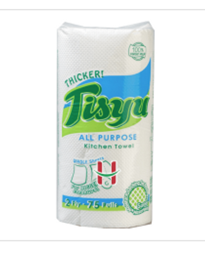 Tisyu All Purpose Kitchen Towel 2Ply 75pls